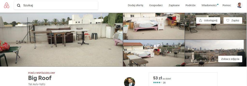 Wynajmowanie mieszkań i pokoi w airbnb